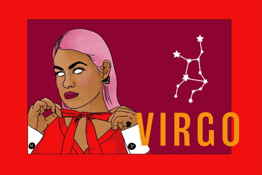 Jahreshoroskop Zodiac Virgo | Das Sternzeichen Jungfrau | PopArt by Ann-Christin Scharf | PlusPerfekt
