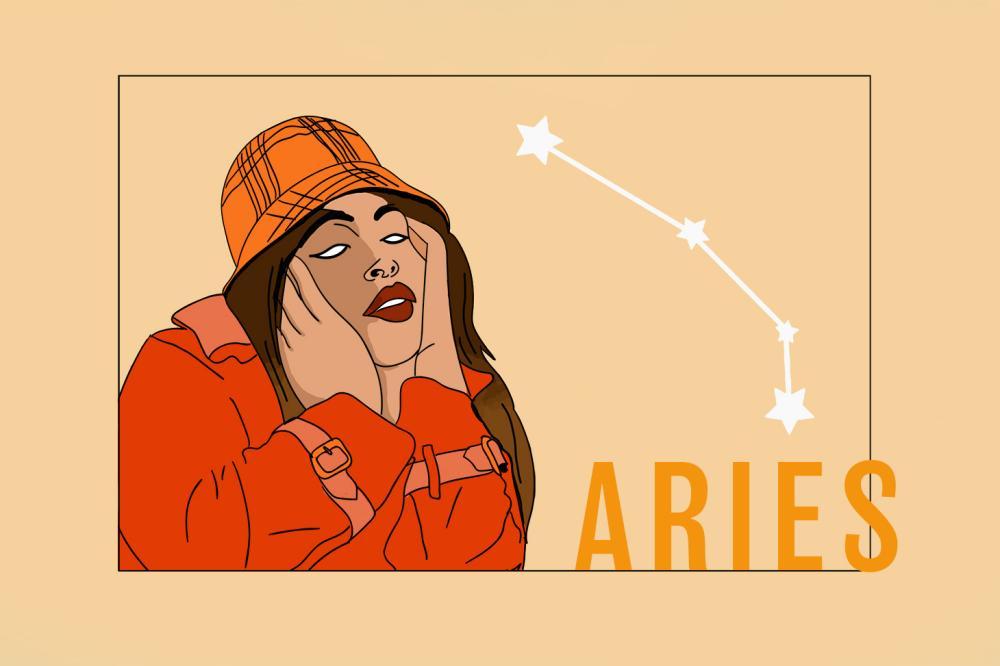 Widder - Zodiac Aries | Das Sternzeichen Widder | PopArt by Ann-Christin Scharf | PlusPerfekt