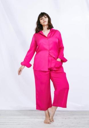 Bluse und Culotte in Pink | Kollektion Sallie Sahne