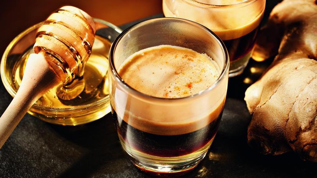 Kaffee-Spezialität Ginger Honey Coffee | Credits: Jura