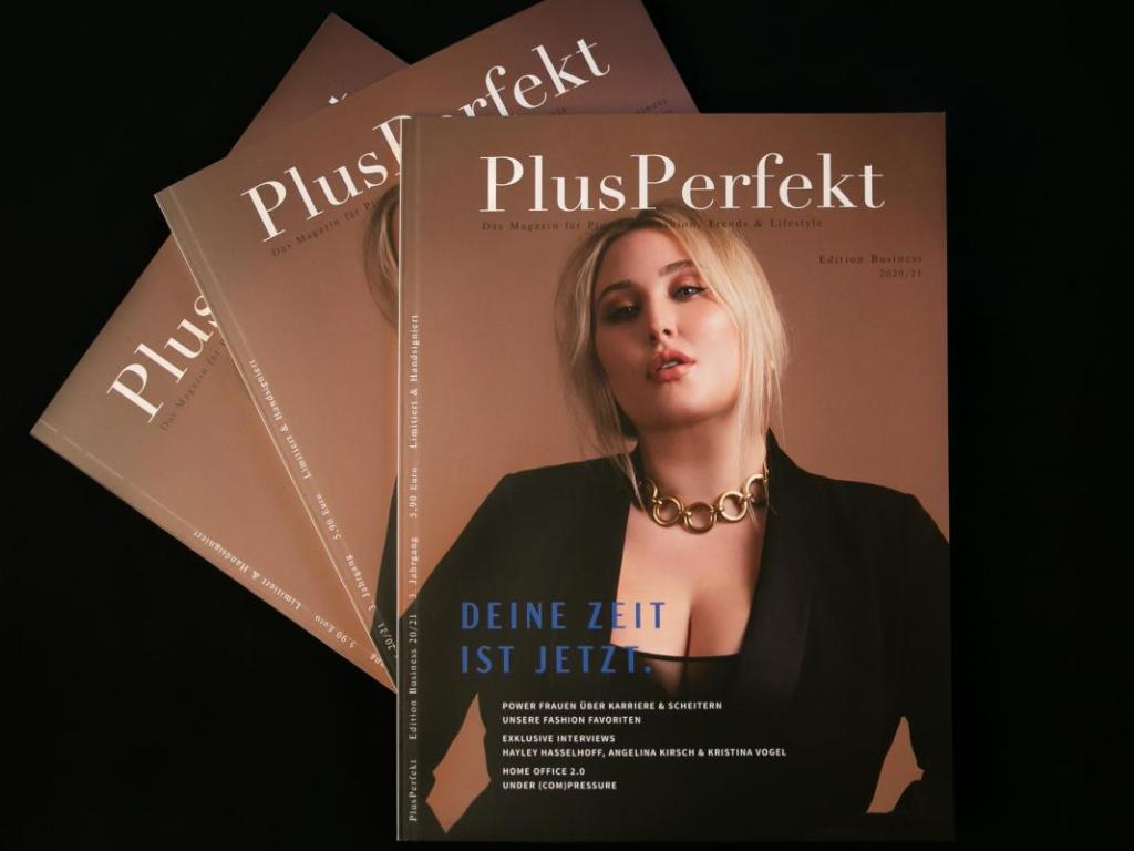 Hayley Hasselhoff Cover PlusPerfekt Edition Business 20 21 3er Reihe