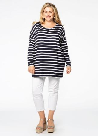 Breton-Shirt in Oversize | Yoek Fashion