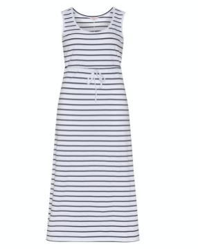 Sommerkleid gestreift im maritimen Look | Credits: navabi