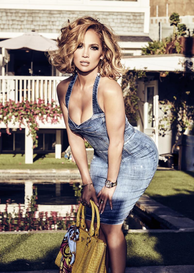 Jennifer Lopez fotografiert und in Szene gesetzt von Tatiana Gerusova