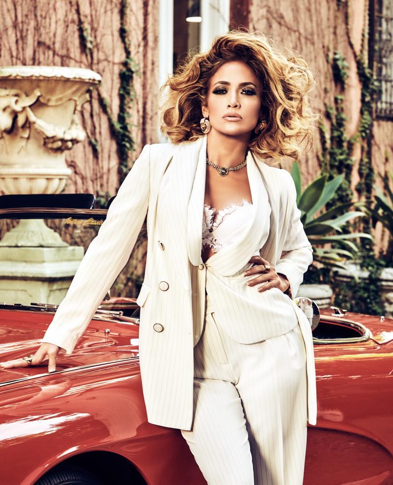 Jennifer Lopez beim Kampagnenshooting für Guess