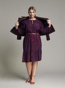 Kleid mit Taillengürtel | Angelina Kirsch Kollektion