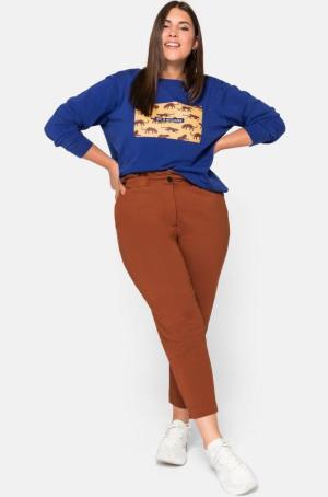 Paperbag-Hose und Shirt von Sheego