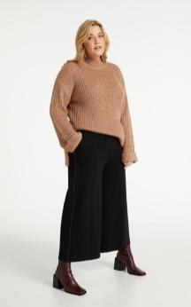Kuschelstrick zur Culotte | Samoon Fashion