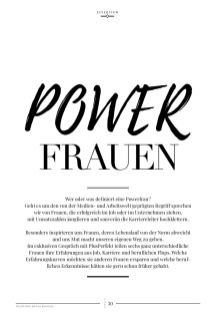 Powerfrauen im Interview | PlusPerfekt Edition Business