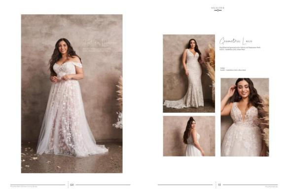 Romantisch verträumte Brautkleider für Curvys und in Plus Size