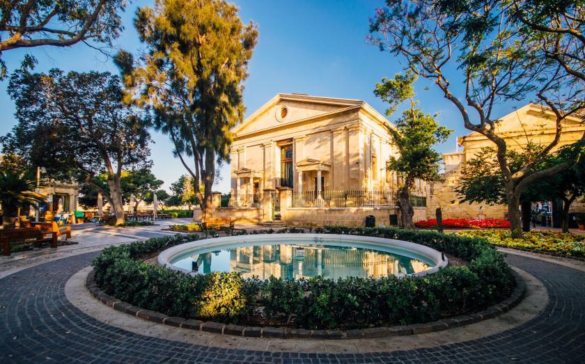 Upper Barrakka Gardens auf Malta   Copyright Visitmalta