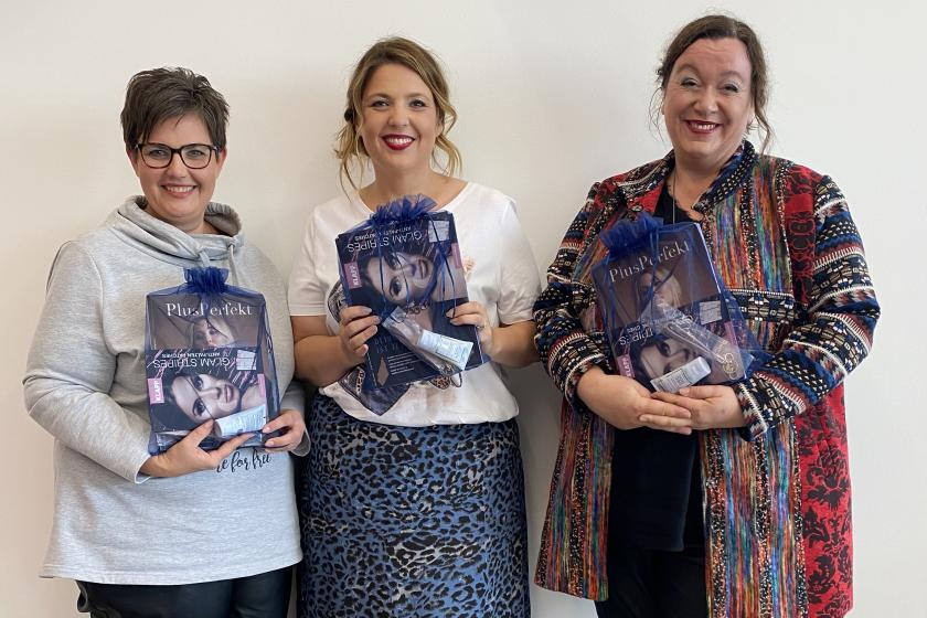Diana, Katrin & Elke - Die Gewinnerinnen beim HAPPYsize Umstyling