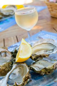 oesters met citroen