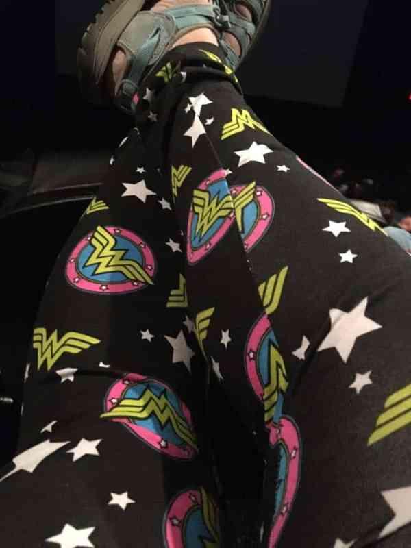 Plus Size Wonder Woman Leggings