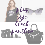 Collage of photos of Black Panther clothes and accessories