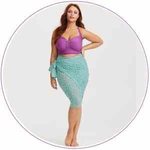 Disney's Ariel Plus-Size Sarong