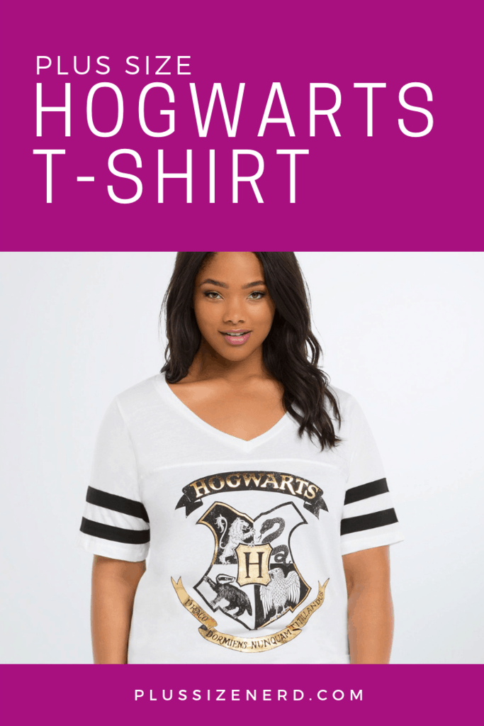 Hogwarts Shield Football Tee