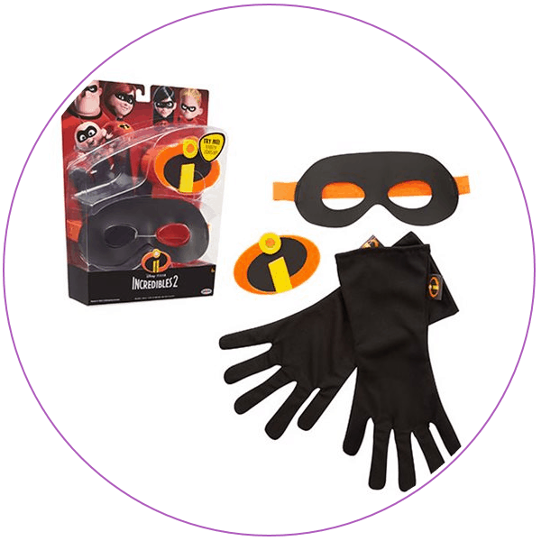 Mask and gloves from The Incredibles