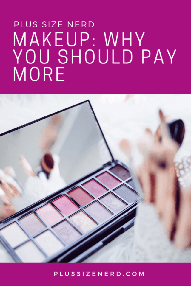 Case of pink and purple eye shadows
