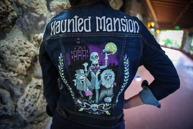 Haunted Mansion Denim Jacket