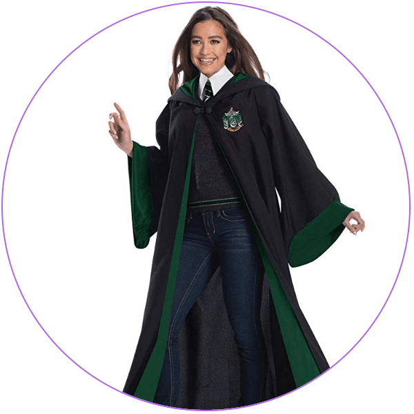 Plus Size Harry Potter robes on Amazon