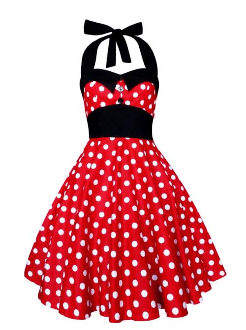 Plus Size Minnie Mouse Halter Dress