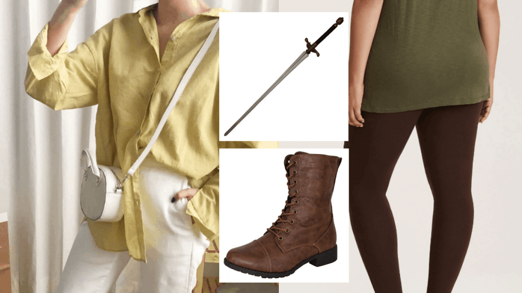 Arya Stark Casual Cosplay for Game of Thrones Fans