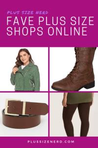 Favorite plus size shops online