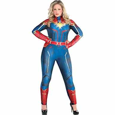 Shop Captain Marvel Prime Day deals for plus size women.