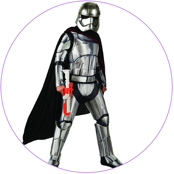 Plus Size Captain Phasma Costume