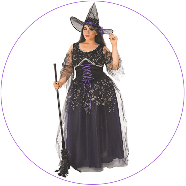 Plus Size Curvy Witch Costume