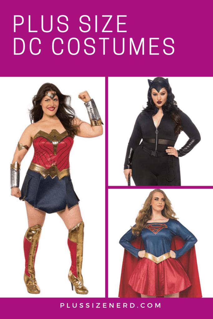 Plus Size DC Costumes