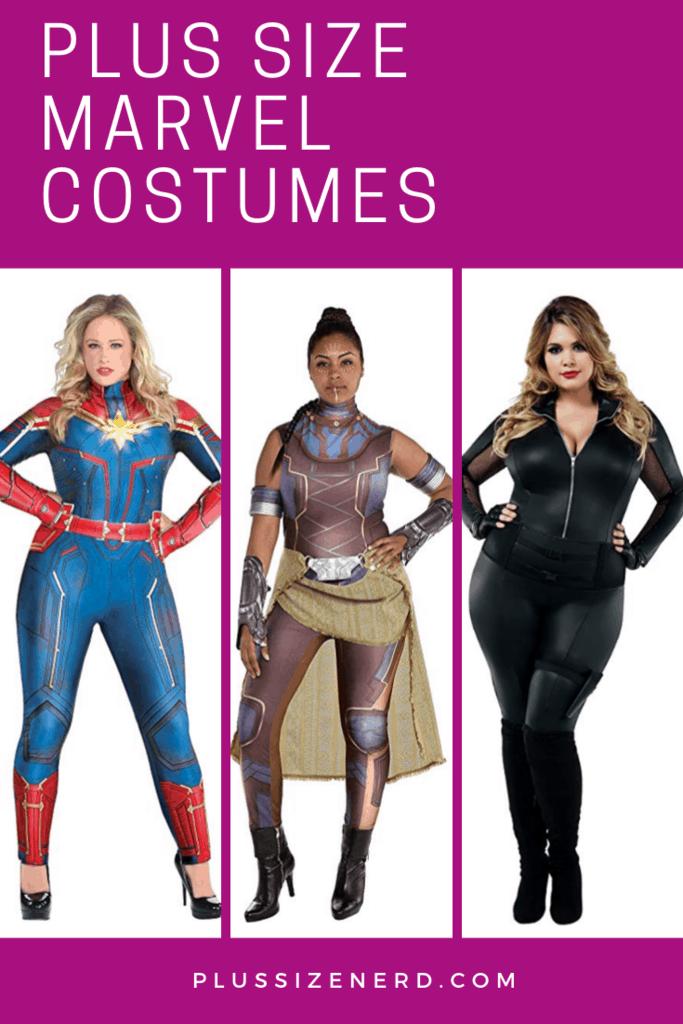 Plus Size Marvel Costumes