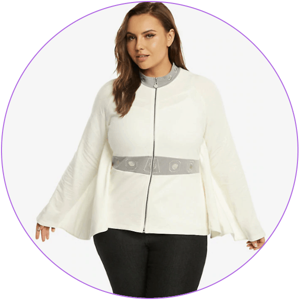 Plus Size Princess Leia Jacket