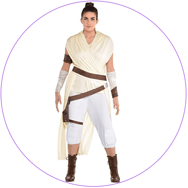 Plus Size Rey Costume