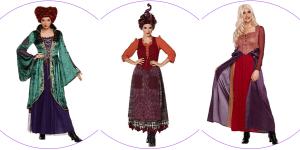 Plus Size Sanderson Sisters Costumes Header