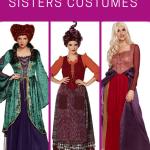 Plus Size Sanderson Sisters Halloween costumes