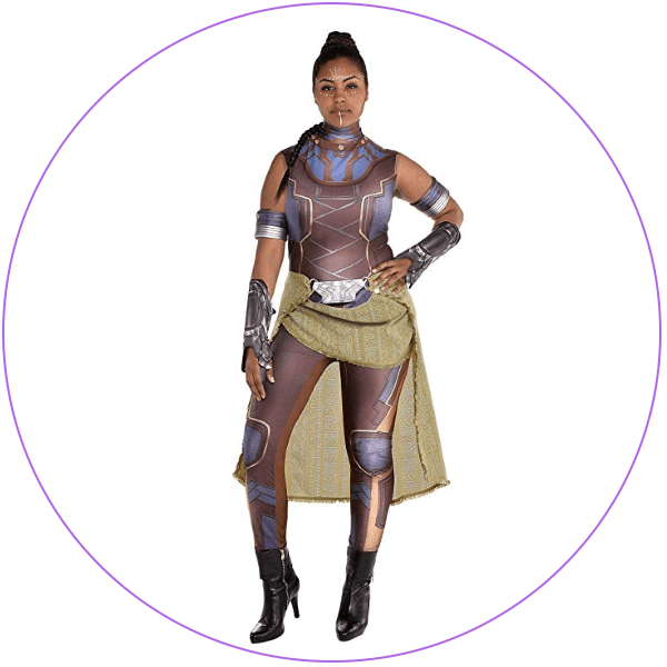Plus Size Shuri Costume