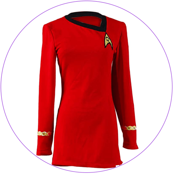 Plus Size Star Trek Red Costume