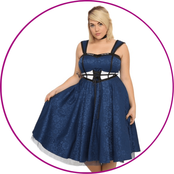 Doctor Who Corset Dress