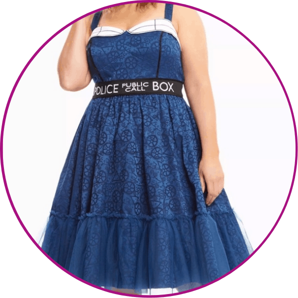 Plus Size Doctor Who Dress