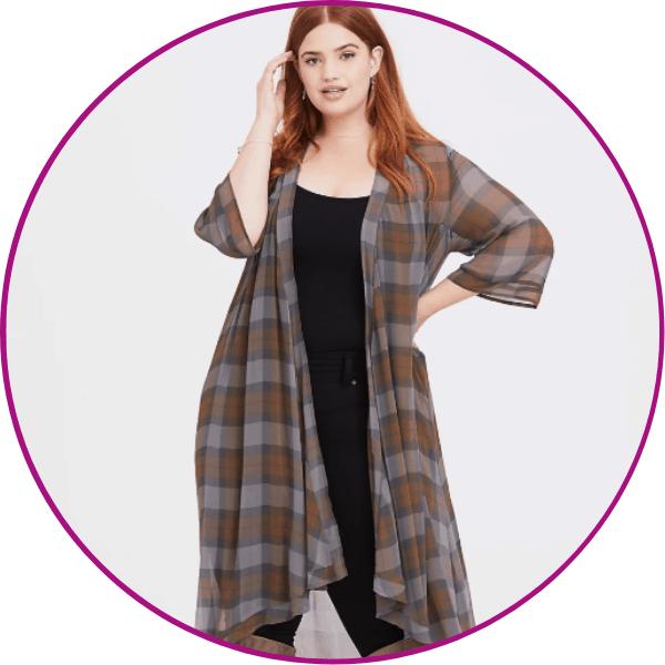 Plus Size Outlander Kimono
