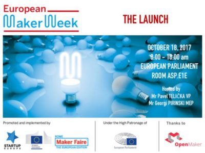 PlusValue to open the European Maker Week