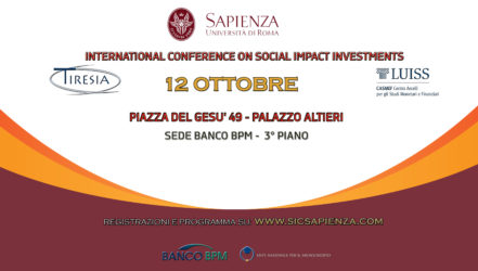 "Filippo Addarii at ""Social Impact Investment International Conference"""