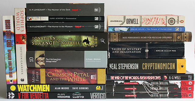 September read-a-thon - books I might read