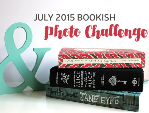 July 2015 Bookish Photo Challenge