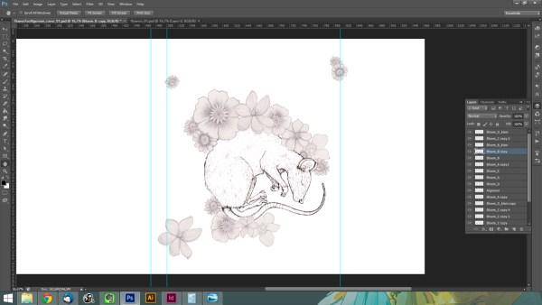 Book cover design process