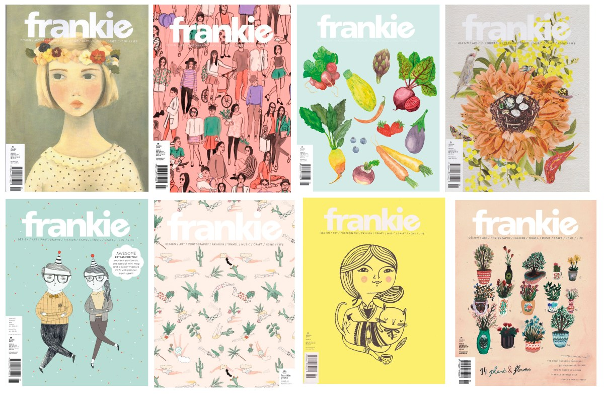 Workspace Wednesday - Frankie Magazine cover