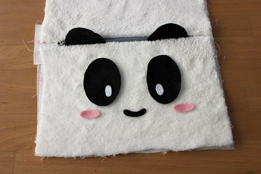 DIY Panda Pencil Case