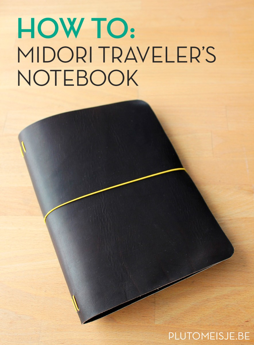 2016 Agenda: Making a Midori Traveler's Notebook cover